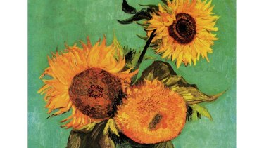 Sunflowers, first version. The Arles series by Vincent Van Gogh.