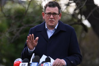 Victorian Premier Daniel Andrews announced the new COVID-19 rules on Tuesday.