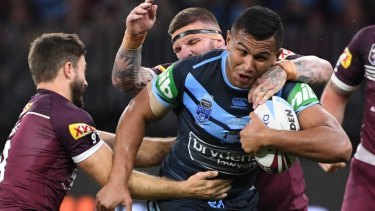 Daniel Saifiti knows he faces being cut for the Origin decider for club teammate David Klemmer.