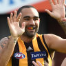 Tasmanian government puts Hawthorn contract talks on hold