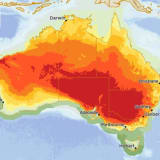 Most of inland south-eastern Australia is expected to reach 45 degrees or warmer on Wednesday.