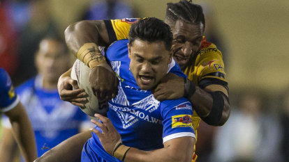 Samoa beat Kumuls to break through for first win in three years