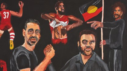 'It only took 99 years': Vincent Namatjira wins 2020 Archibald Prize