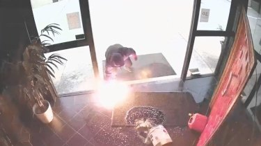Police have renewed their appeal and issued CCTV footage as investigations continue into the arson attack.