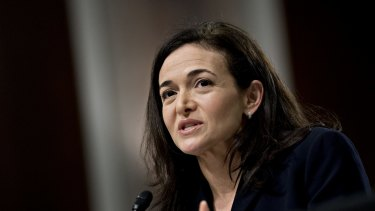 Facebook COO Sheryl Sandberg.