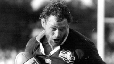 Rugby Union legend Mark Loane in 1982.
