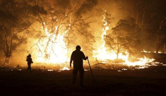 Now is the time  to act ... firefighters northwest of Braidwood this month.