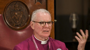 Melbourne Archbishop Philip Freier said same-sex unions were a social issue and matter of conscience.