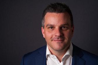 White Ribbon's new executive director Brad Chilcott.