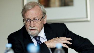 Former foreign minister Gareth Evans.