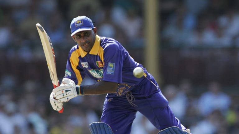 Charges: Sanath Jayasuriya, seen here back in his playing days, is under investigation.