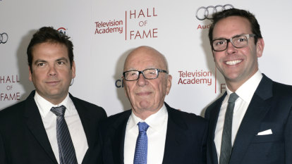 James Murdoch to take 'precisely zero' involvement in family's companies after split, says book