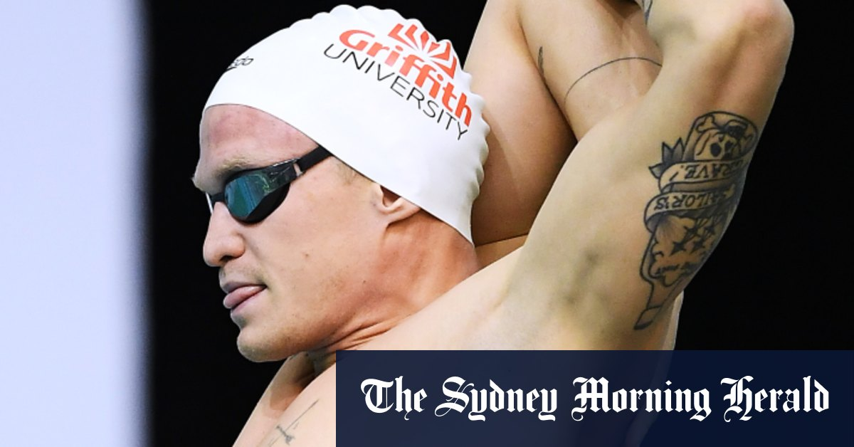 Cody Simpson surges into final of 100m butterfly at Olympic trials - Sydney Morning Herald