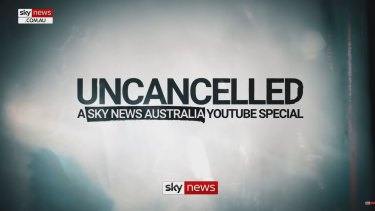 """Sky News uploaded this """"uncancelled"""" image to the platform on Thursday night when the suspension lifted."""