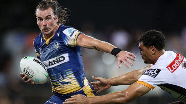 Clint Gutherson's try celebration has become redundant in recent weeks.
