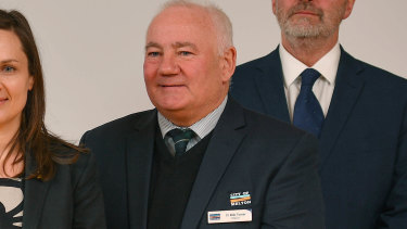 Melton mayor Bob Turner.