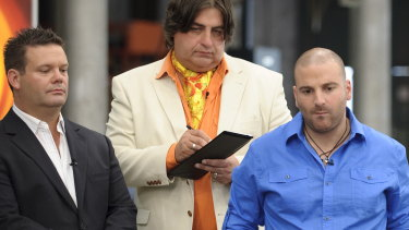 Mehigan, Preston and Calombaris in MasterChef's first season.