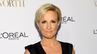 Donald Trump's made florid claims about Mika Brzezinski, above, as well.