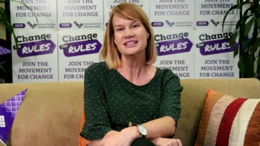 NTEU national president Dr Alison Barnes.