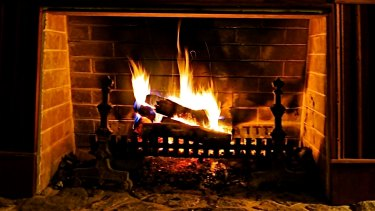 Winter warmers: roaring fires, soup and slow-cooked dinners are among the season's delights.