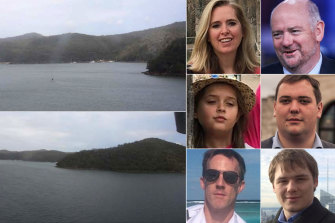 All six people on board the seaplane, including 11-year-old Heather Bowden-Page, were killed in the crash.