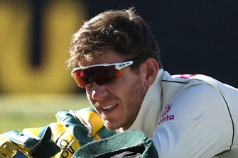 Tim Paine put down three chances in Sydney.