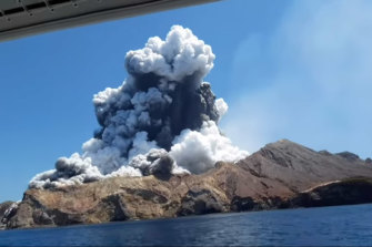 The deadly White Island eruption.
