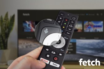 Fetch TV is the latest set-top box to work with a voice-enabled remote.