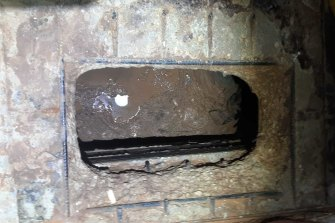 Six prisoners escaped through this hole in the floor of a jail cell at Gilboa prison, just north of the West Bank.