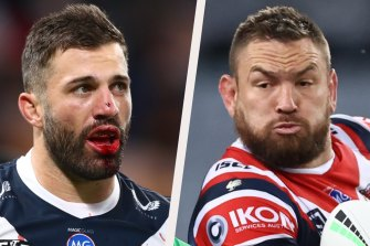 James Tedesco and Jared Waerea-Hargreaves have been enormous for the Roosters.