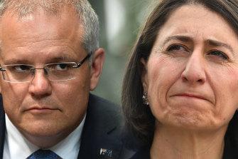 "Prime Minister Scott Morrison paid tribute to former NSW premier Gladys Berejiklian, noting she was ""a dear friend of mine."""