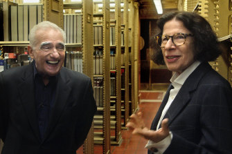 Martin Scorsese and Fran Lebowitz in Pretend It's a City.