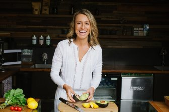 Kate Save, who runs Be Fit Food, hires a graduate dietician each year.
