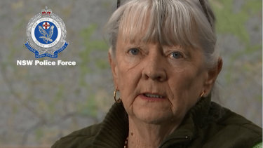 The 71-year-old woman thanked police for their efforts.