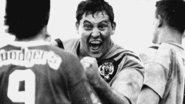 Memories: Steve Roach stirs up the Raiders.