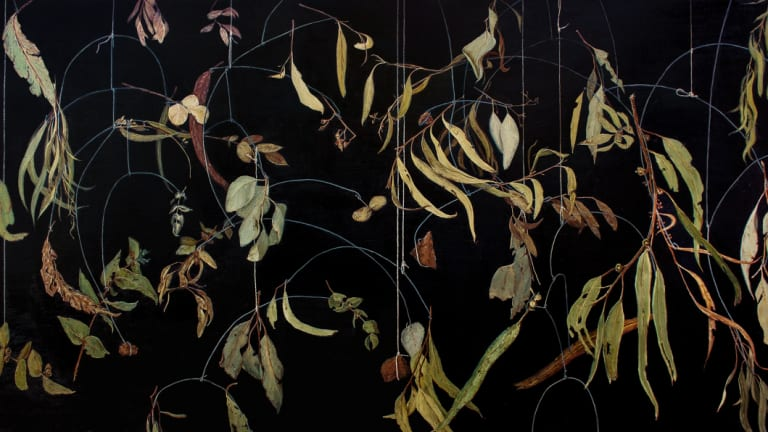 <p>Hayley Lander, <i>The Great Forgetting</i> in <i>Softly calling</i> at Form Studio and Gallery.</p>