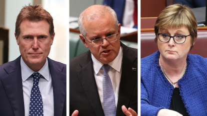 Morrison to keep Porter and Reynolds in reshuffle as he battles storm