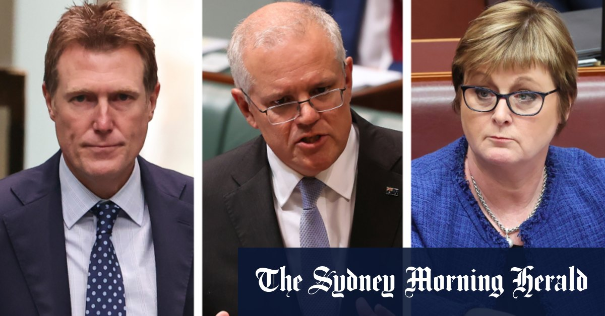 Morrison to keep Porter and Reynolds in reshuffle as he battles storm – Sydney Morning Herald