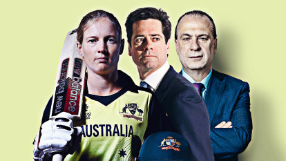 Good Weekend's 40 Australians Who Mattered: Sport