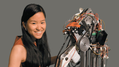 'Mum told me to give back to the community': the young Australian creating robots for good