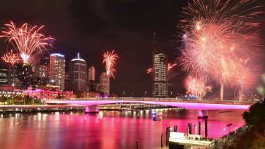 Riverfire lights up the sky last year.