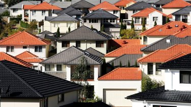 House values were lower in five of the eight capital cities last month.