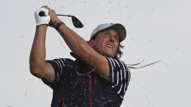 Can you imagine big shot Phil Mickelson on the clock?