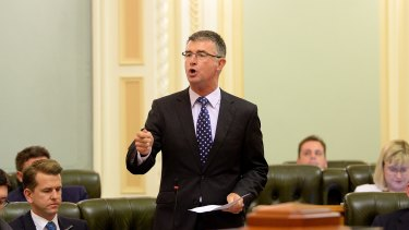 LNP deputy leader Tim Mander criticises Labor MPs for acting inappropriately at functions.