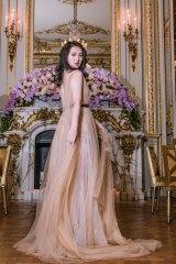 Huawei founder's daughter Annabel Yao at Le Bal des Débutantes in Paris.