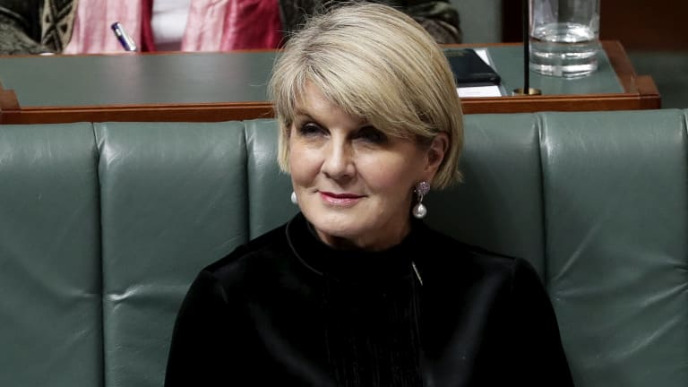 Foreign Minister Julie Bishop has raised the issue of Australians missing in action from the Korean War during a meeting with her North Korean counterpart, Ri Yong-ho.