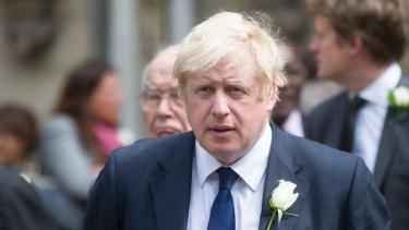 Boris Johnson, brother of resigning transport minister Jo Johnson.