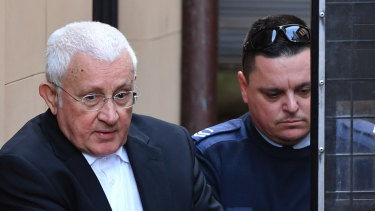 The jailed former property tycoon Ron Medich.