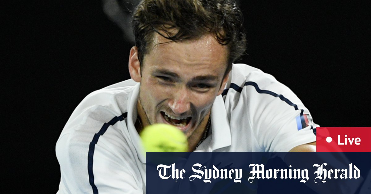 Australian Open 2021 LIVE updates: Daniil Medvedev and Stefanos Tsitsipas clash in men's semi; Stosur and Ebden make doubles final