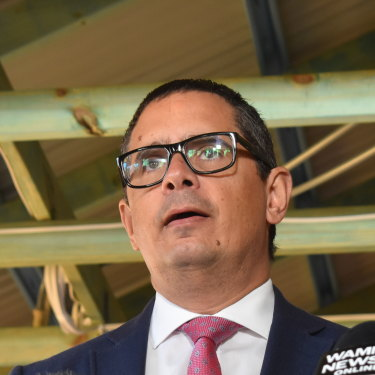 WA Aboriginal Affairs Minister Ben Wyatt has been under fire for granting approvals to BHP and Rio Tinto.